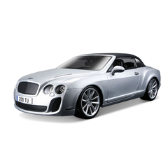 BENTLEY CONTINENTAL SUPERSPORTS CONVERTIBILE ISR SCALA 1:18