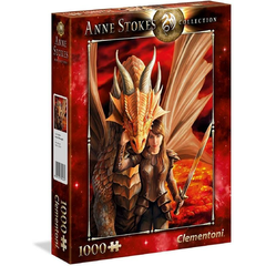 PUZZLE 1000 PZ ANNE STOKES - INNER STRENGHT